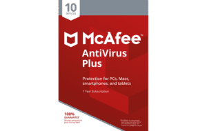 DigiiStore McAfee Antivirus Plus 10 Devices Gift
