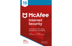 DigiiStore McAfee Internet Security 10 Devices Gift Card