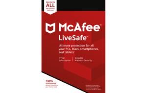 DigiiStore McAfee LiveSafe Gift Card