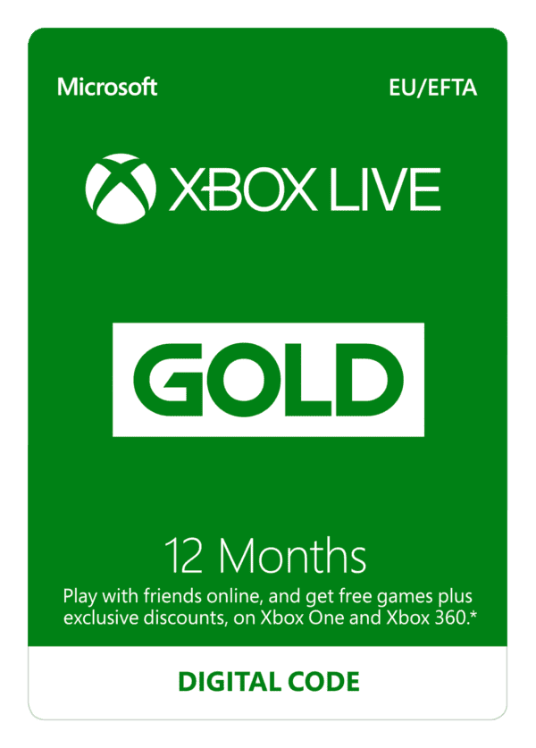 DigiiStore Xbox live 12 months