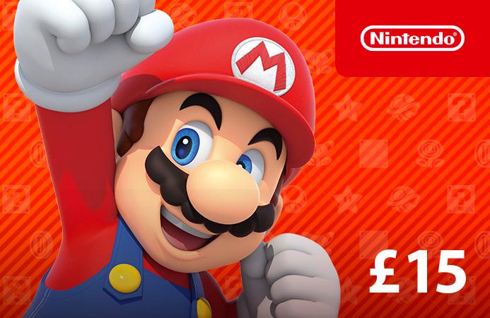 £15 DigiiStore Nintendo gift card