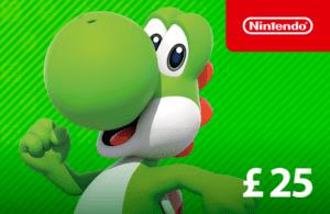 DigiiStore Nintendo eShop Gift Card £25