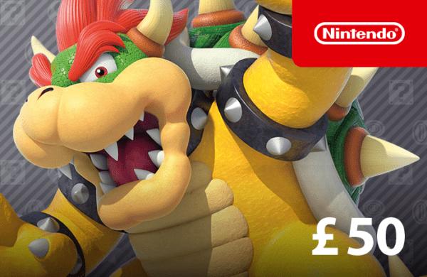 £50 DigiiStore Nintendo Gift Card