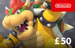 DigiiStore Nintendo eShop Gift Card £50