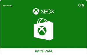 DigiiStore Xbox £25 Gift Card