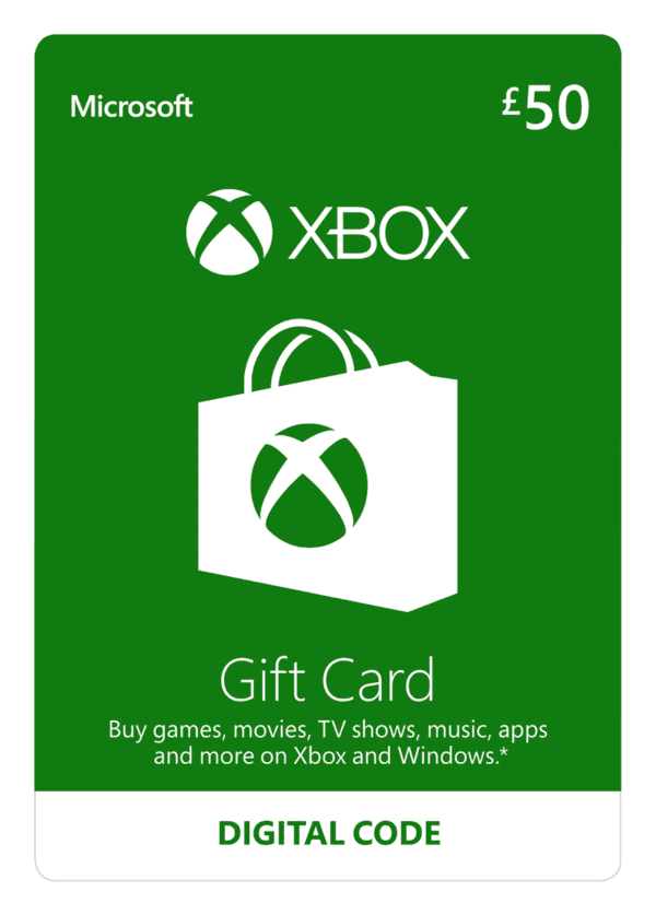 DigiiStore Xbox Gift Card £50